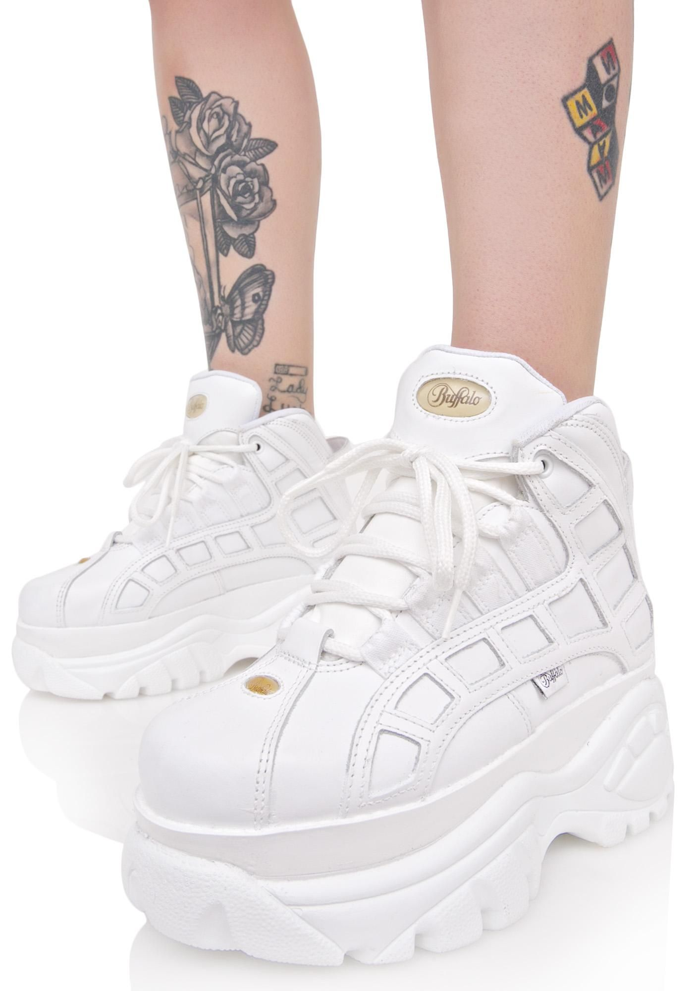 sports shoes 561f8 37531 Blanco Arched Platform Sneakers | shoes | Schuhe