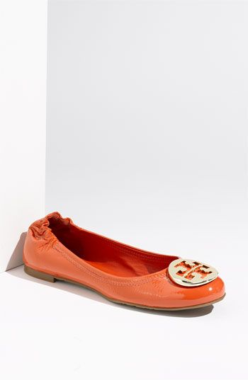 4bf313798d5a My newest love...Tory Burch Reva Flats in Habanero Pepper. I will be  wearing these everywhere!