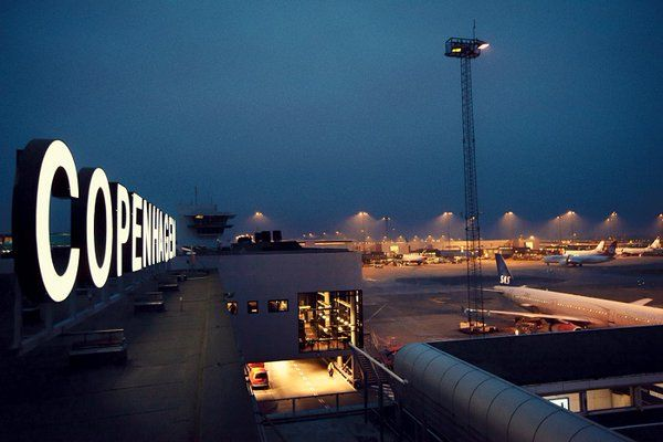 Night Flight - Copenhagen airport