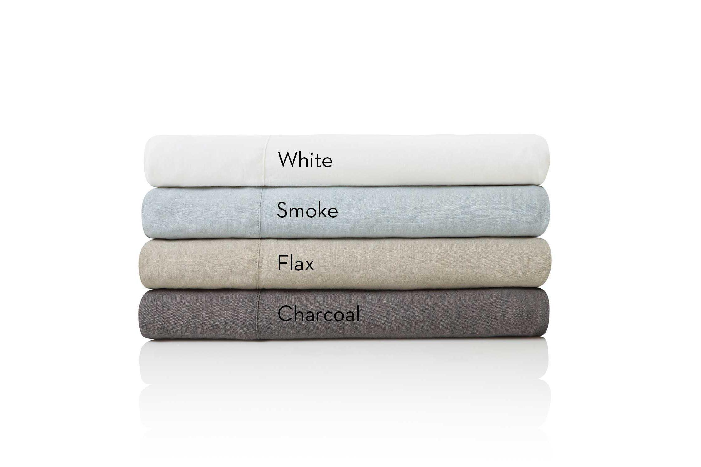 French Linen Cal King Smoke by Malouf