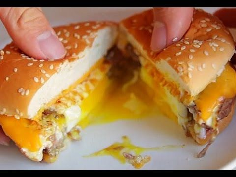 Egg in the hole cheeseburger buzzfeed food recipe preparation egg in the hole cheeseburger buzzfeed food recipe preparation forumfinder Image collections