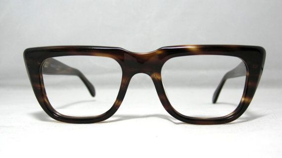 880592a841 Vintage Eyeglasses. Mens Amber Tortoise by CollectableSpectacle ...