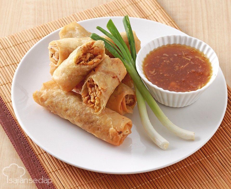 Lumpia Semarang Cukup Buat Dengan Resep Berikut Resep Makanan Resep Ide Makanan