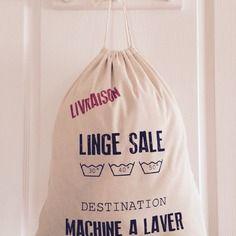 sac linge sale home sweet home sac linge sac. Black Bedroom Furniture Sets. Home Design Ideas