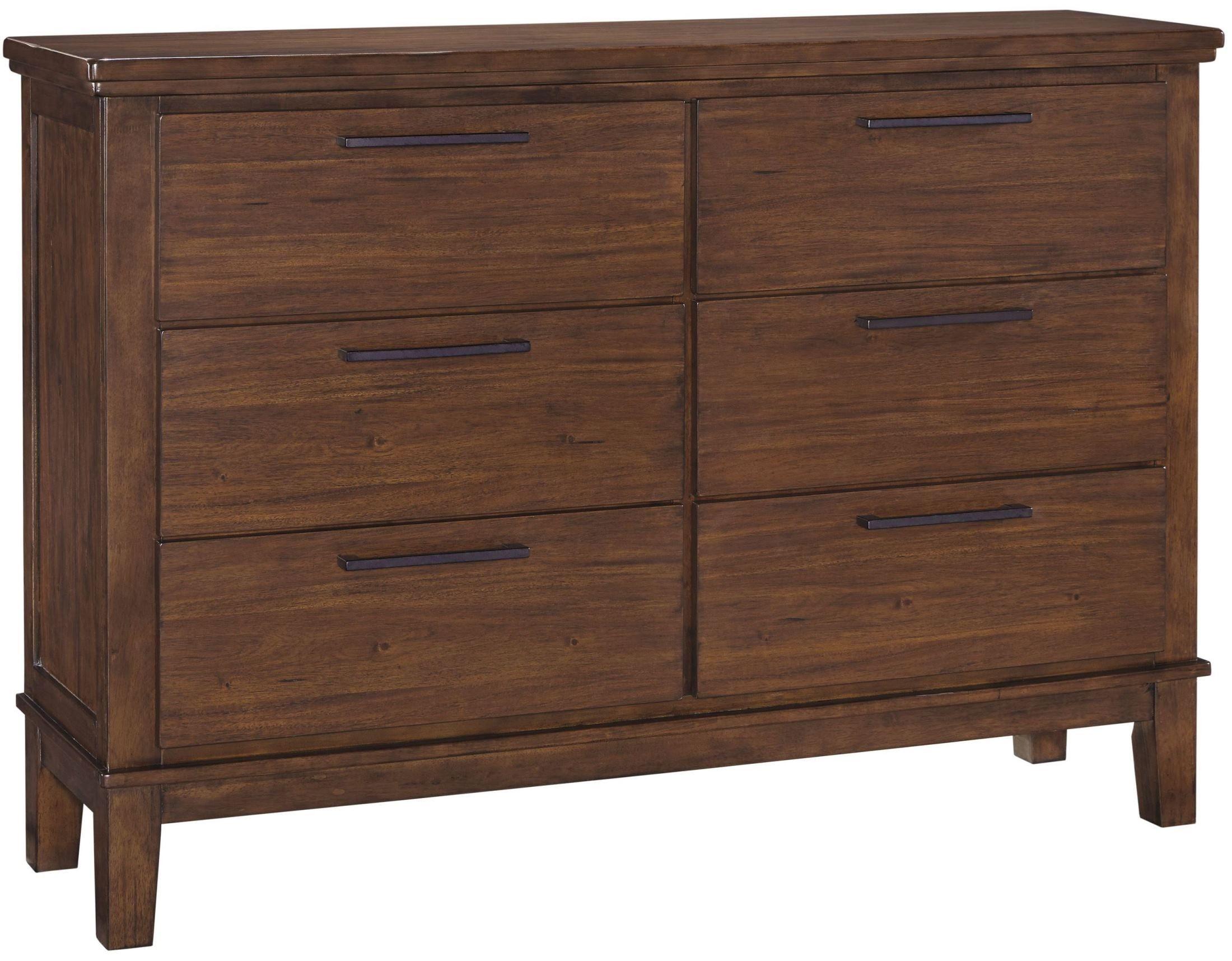 Ralene Medium Brown Dresser Signature design, Brown