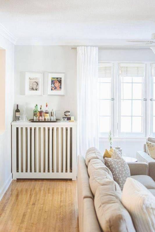 Designer Living Room Radiators: Stylish Radiator Cover Ideas For Summer