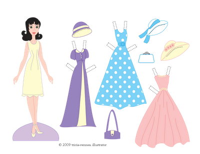 41 Free Paper Doll And Printable Dress Ups And Very