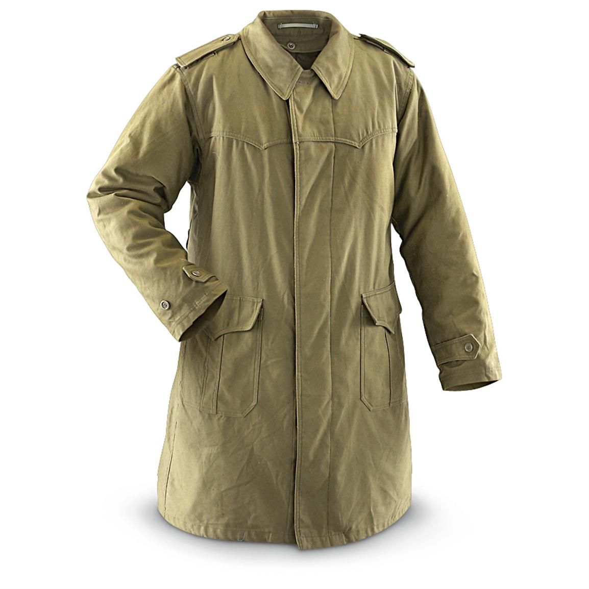 Serbian Military Surplus Fishtail Parka with Liner | Mil spec ...
