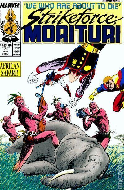 strikeforce morituri (1986) #23 vf from $1.35