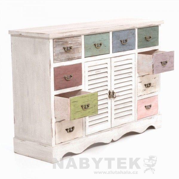 Barevná šuplíková komoda Siena - 6053890 Furniture Pinterest - designer kommoden aus holz antike