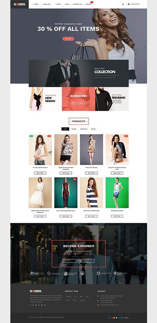 sodiss free shopify theme free shopify theme responsive junothemes