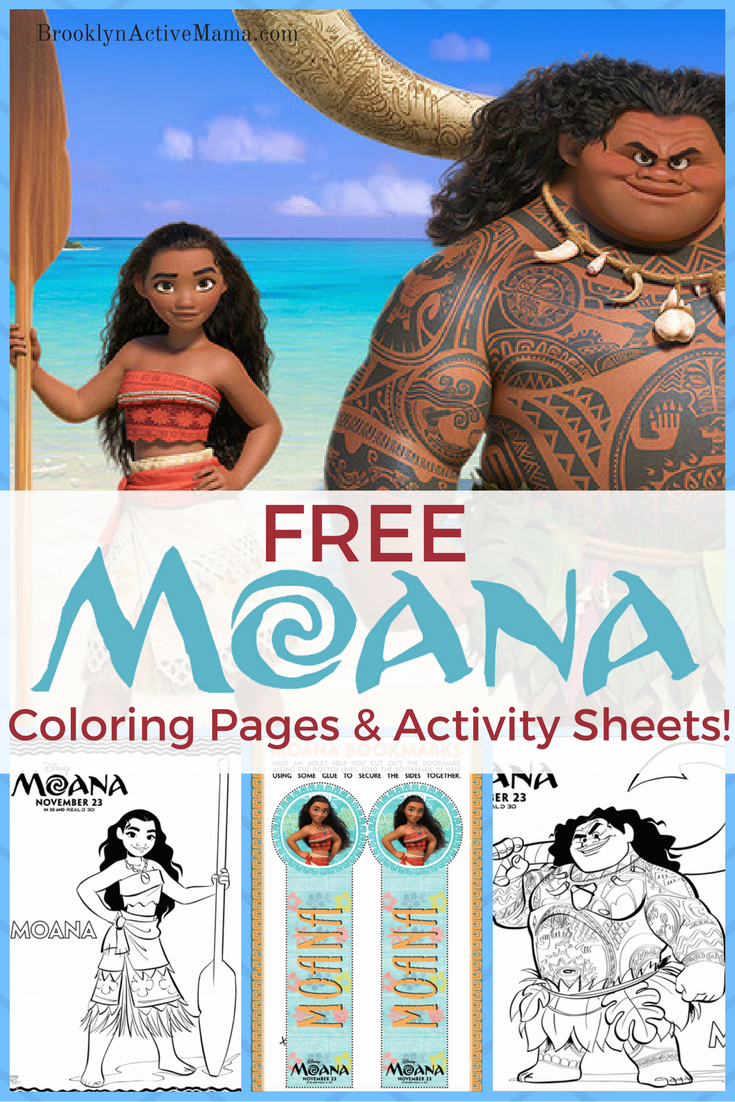 Free disney moana printables and games for your next birthday party