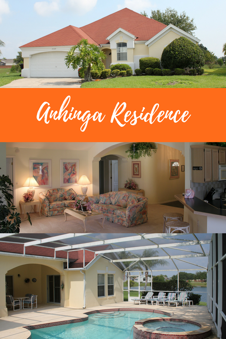 Anhinga Residence 3 Bed 3 Bath Orlando Vacation Rental Home