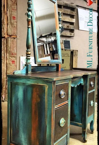 antique vanity refinishing a 35 garage sale find, chalk paint, painted  furniture - Antique Vanity Refinishing..A $35 Garage Sale Find! In 2018 Home