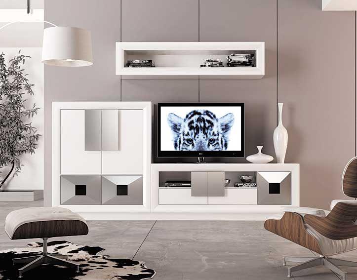 Muebles Portobellostreet.es: Composicion de Salon Carmen - Ambientes ...