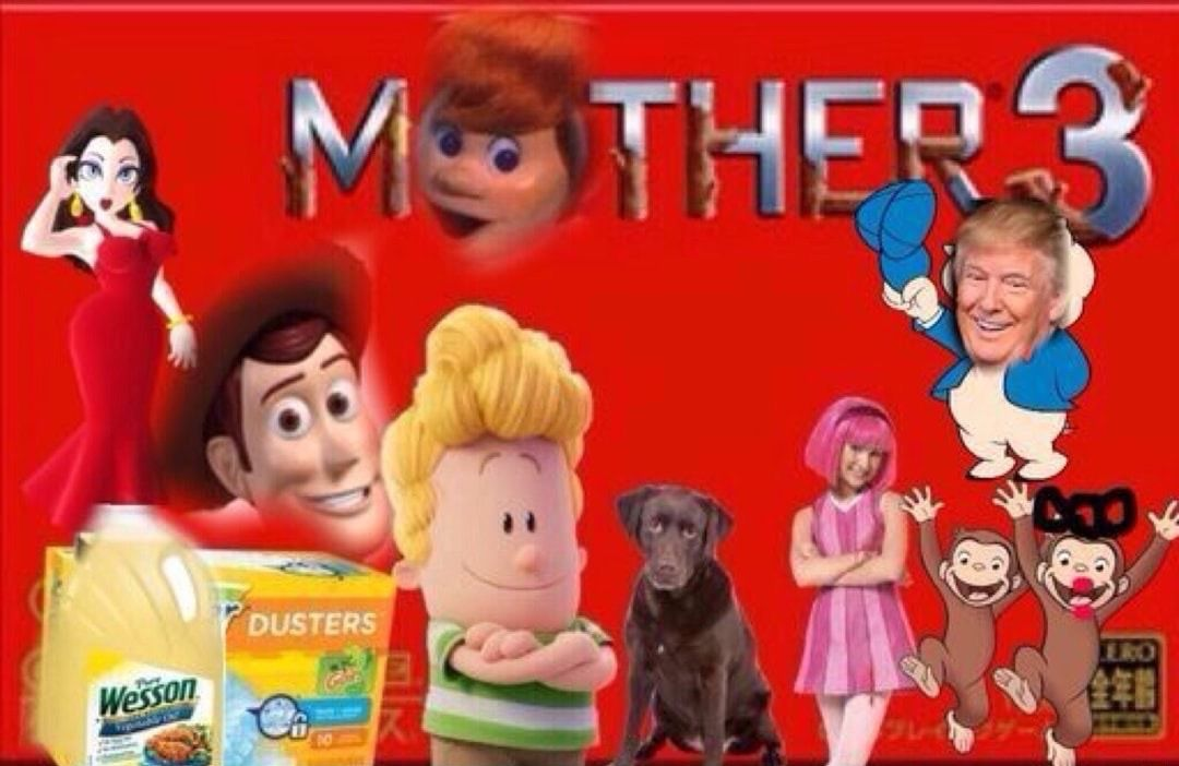 Cursed Image Mother Games Nintendo Fan Art Funny Memes