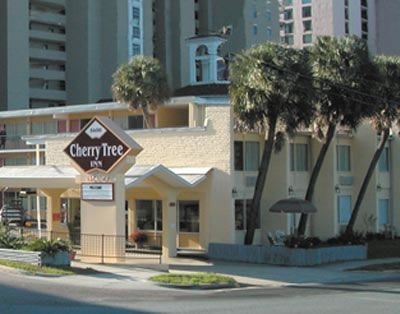 Centrally Located In Myrtle Beach The Cherry Tree Inn Is A Small Family Owned And Operated Ocean Front Motor With Side View Rooms
