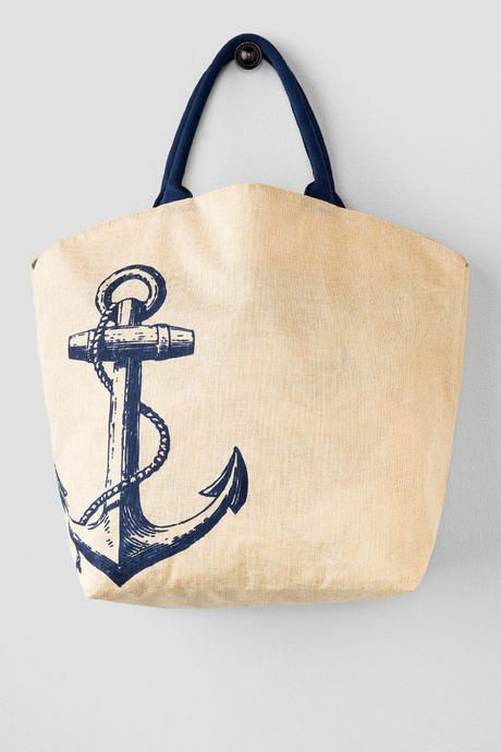 Anchor Beach Tote Pair With Your