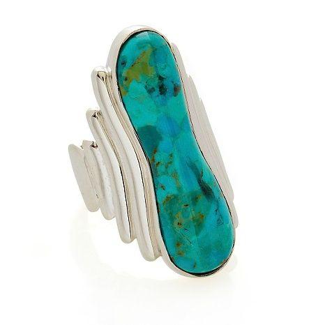 Jay King Kingman Turquoise Sterling Silver Ring