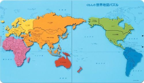 new-kumon-world-map-puzzle-from-japan - new world map infographic image