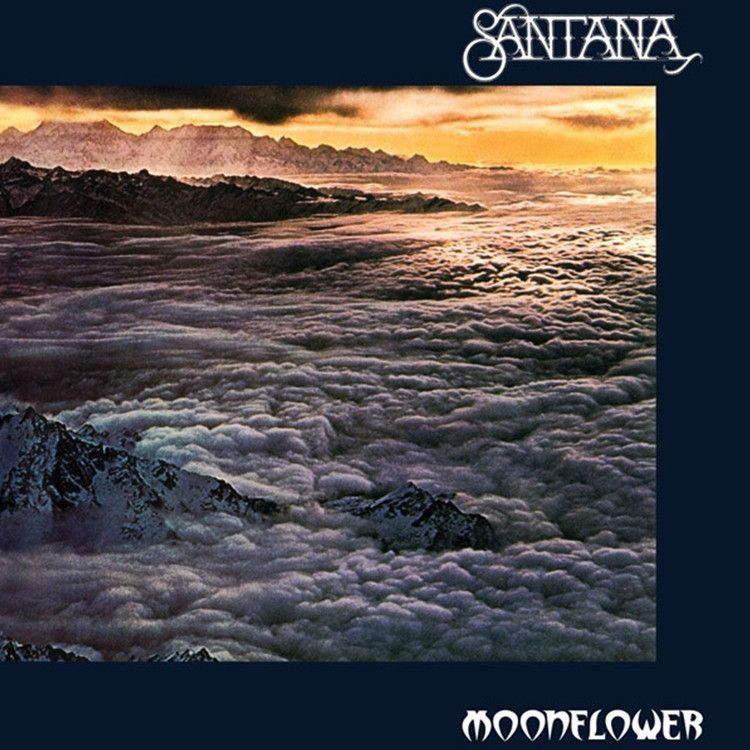 Santana Moonflower On Limited Edition 180g 2lp Moon Flower Santana Rock Album Covers