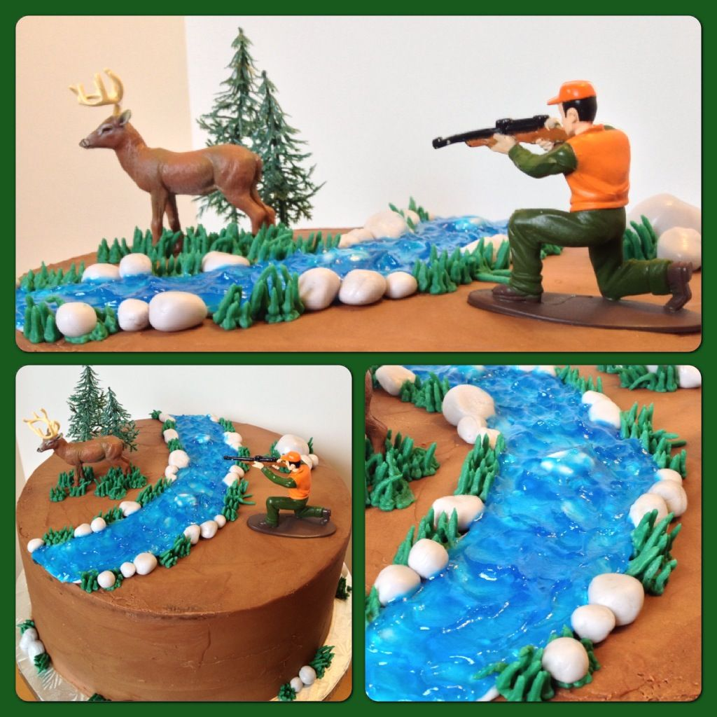 Hunting Cake Cakes Pinterest Cake Birthdays and Birthday cakes