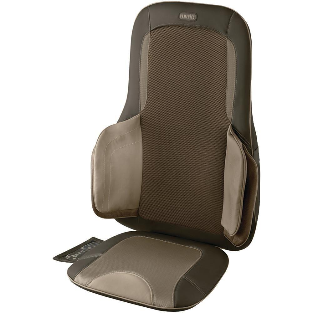 Homedics air compression u shiatsu massage cushion deep tissue