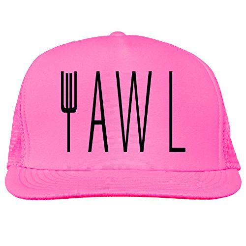 YAWL Bright neon truckers mesh snap back hat in 6 Bright Colors