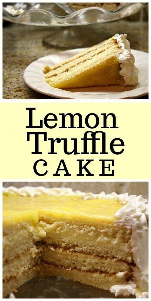 Truffle Cake recipe from Lemon Truffle Cake recipe from   Si eres fan de los pingüinos, con esta r