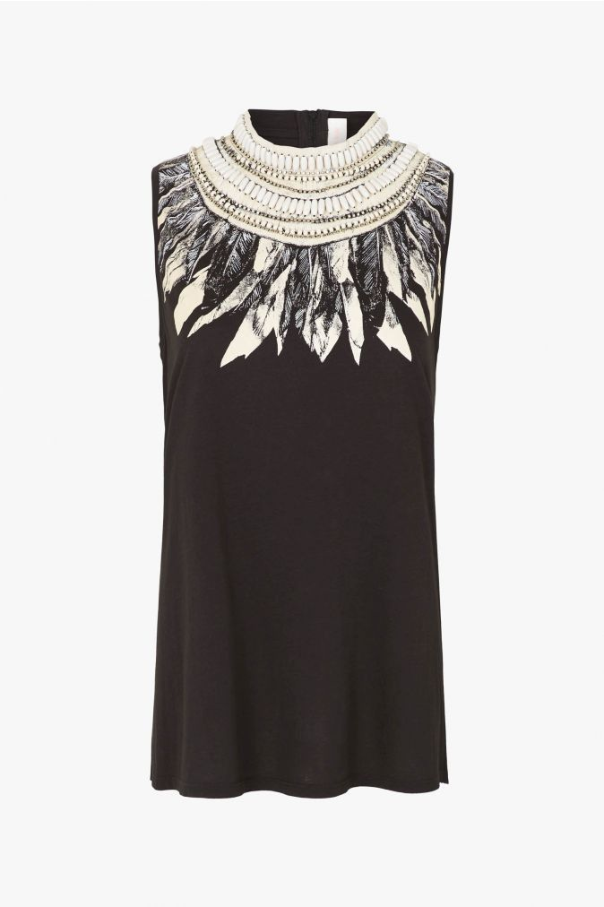 65d81e6f34 Sass and Bide What You Want Embellished Tank find it and other fashion  trends. Online shopping for Sass and Bide clothing. Create a statement with  this.