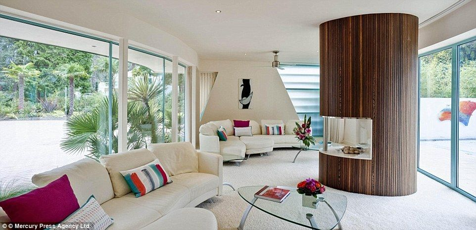 The home boasts five en-suite bedrooms, another three bathrooms, a cinema room, a luxury f...