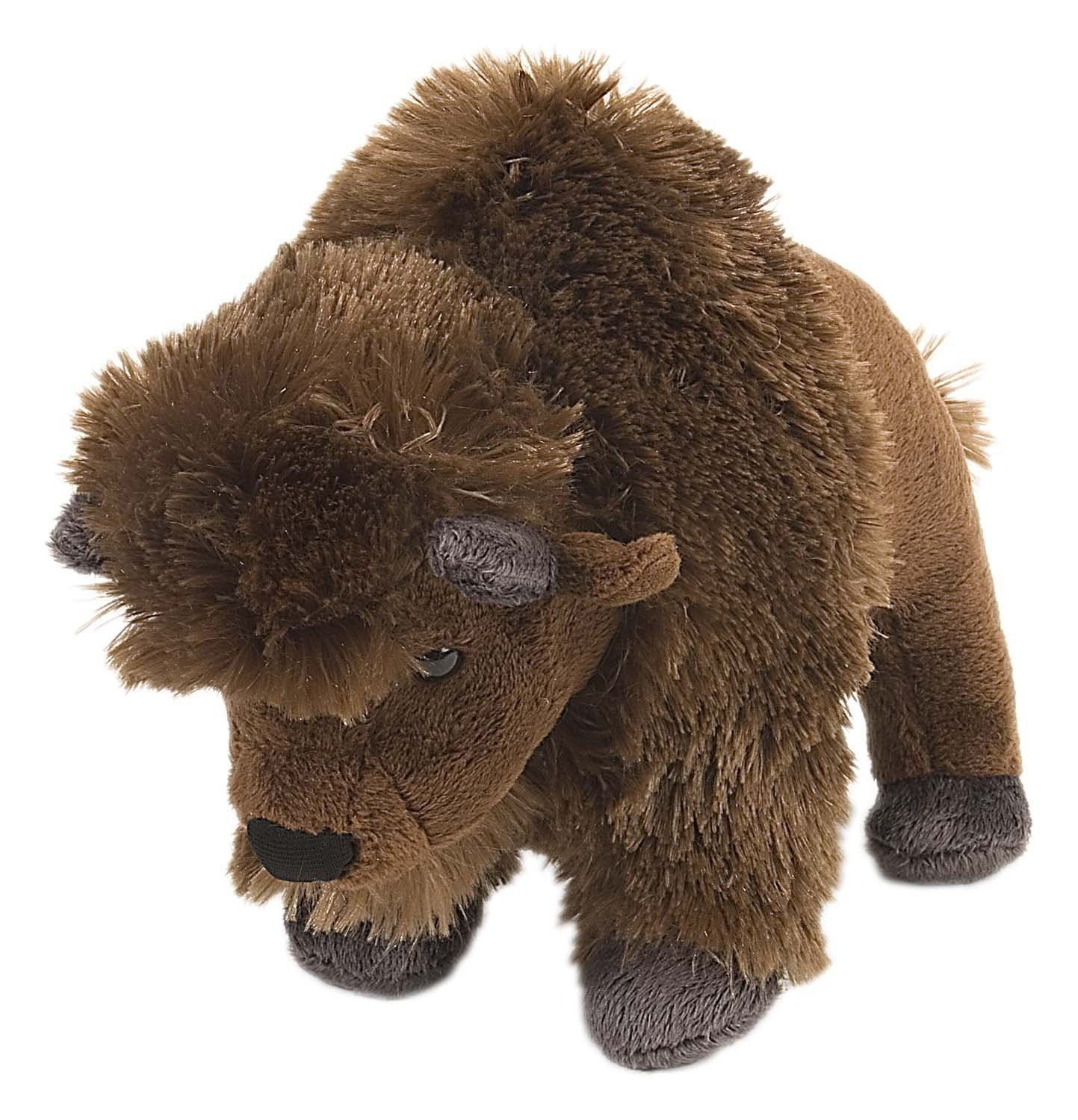 "Mini Cuddlekins 8""/20cm Bison Soft Toy Figure Wild"