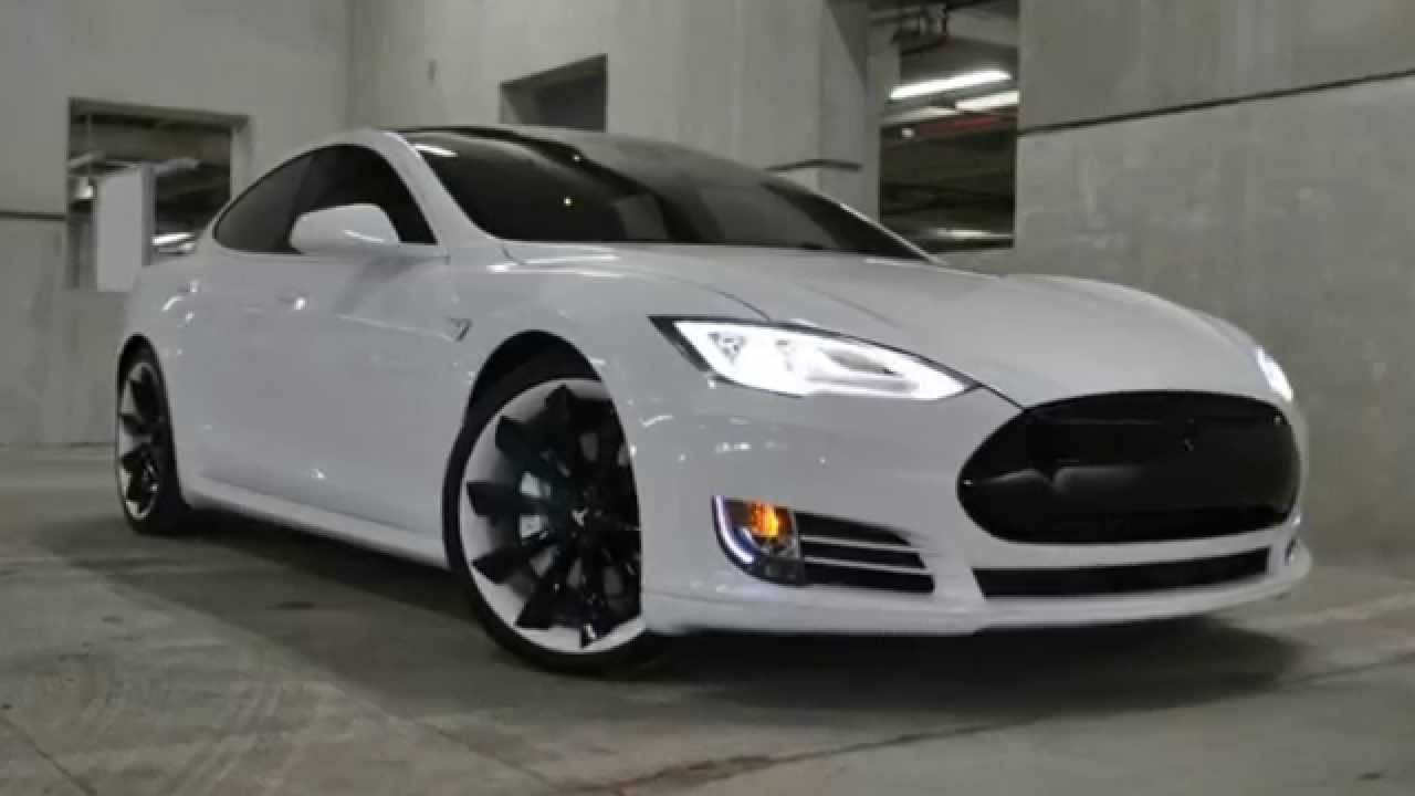 Tesla Model S Custom >> A Great Custom Tesla Model S P85d Nice Rims Just Wish The