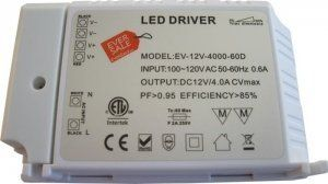 12v 48w Dimmable Cv Dc Led Driver Etl Ul Approved By Eversale 39 99 Input Range From 100 120v Ac 50 60hz Pf 0 Lamp Wire Led Drivers Light Accessories