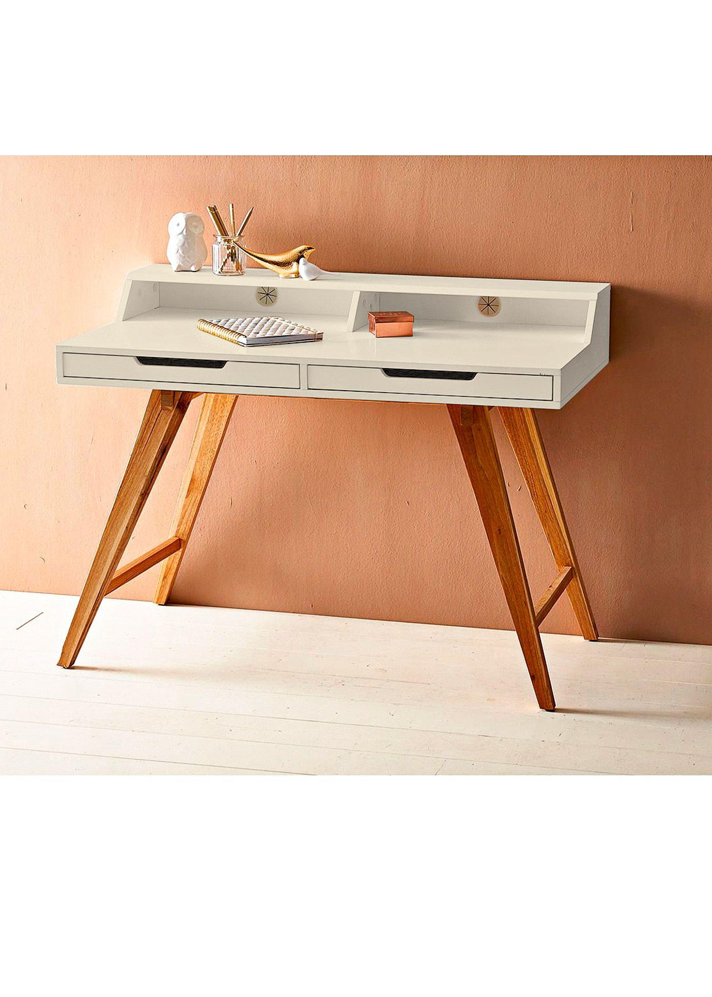 Perfekt Sekretär Natur/weiss   Home Collection Online Kaufen   Bonprix.de