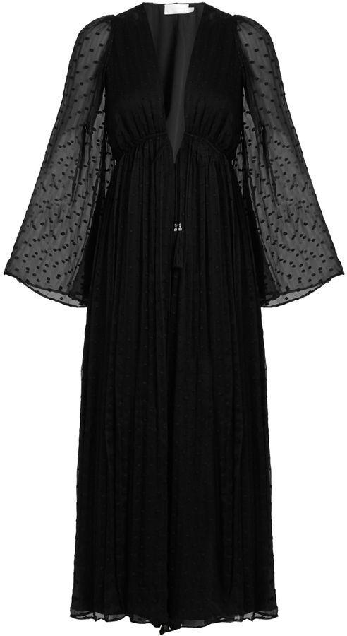 bb143db578e ZIMMERMANN Gossamer polka-dot embroidered silk jumpsuit