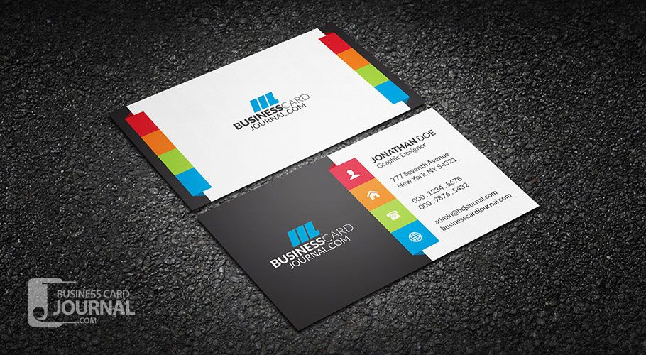 An amazing multi color design for those who prefer a touch of vibrant creative multi color business card template more at designresources wajeb Gallery