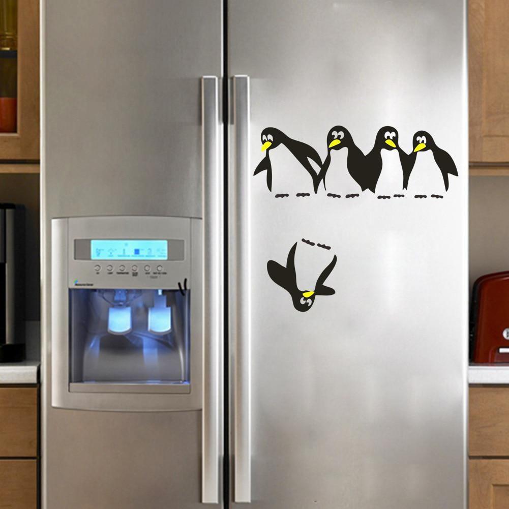 Gadget Home Decor Wallpaper Fridge Sticker Refrigerator Decal Vinyl Stickers