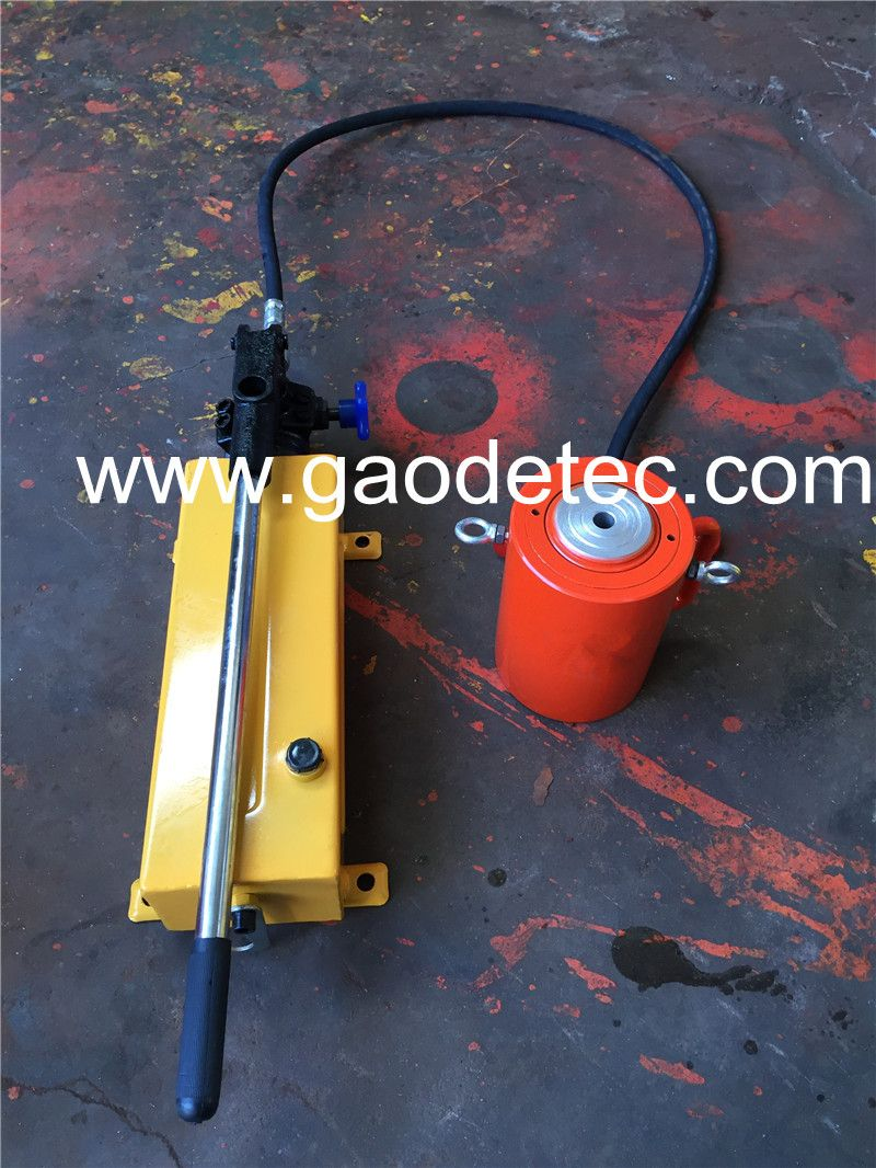 single acting hydraulic jack with hydraulic hand pump_ | Oil
