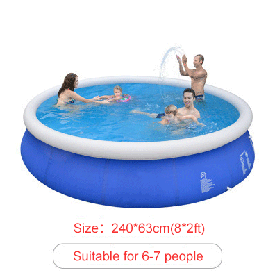 Inflatable Above Ground Swimming Pools With Air Pump Swimming Pools Portable Swimming Pools Inflatable Pool