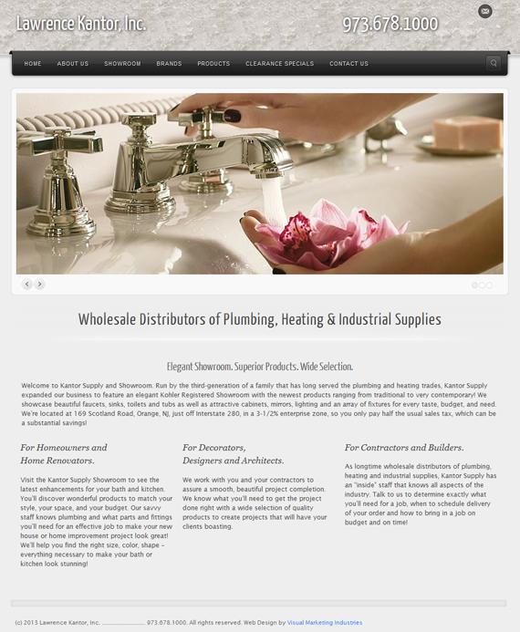 Website Design by Jayne Bierman Kantor Supplies Small