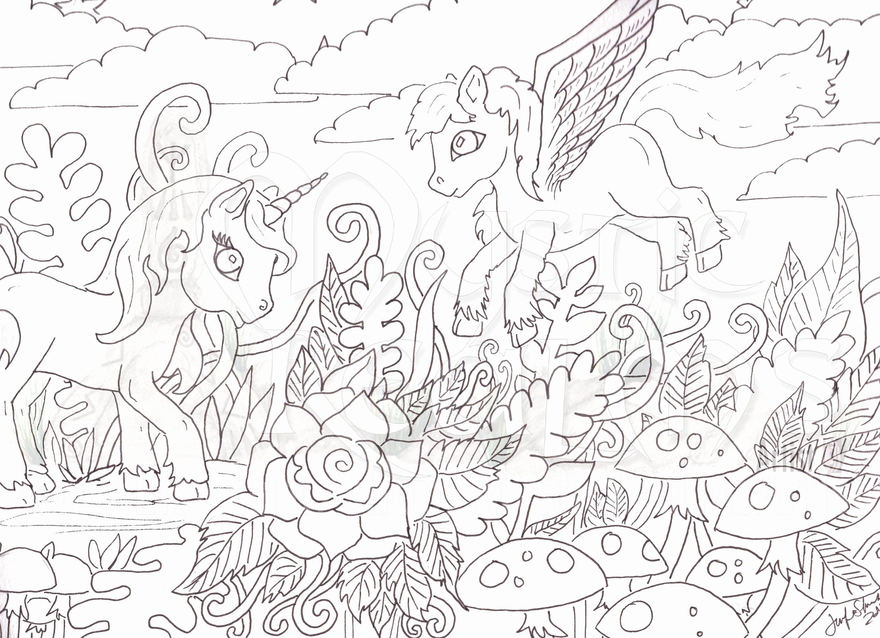 Cute Narwhal Coloring Page Di 2020