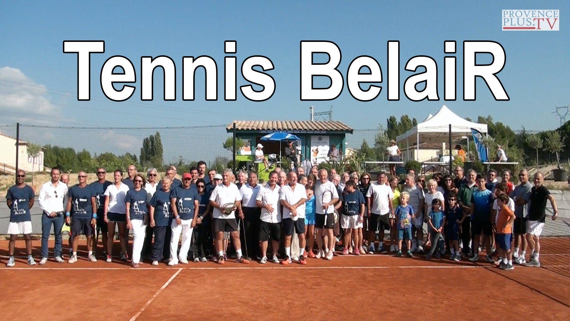 Inauguration du Tennis BelaiR