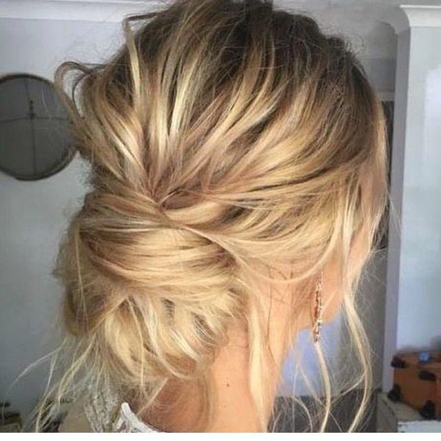 Recogidos bajos Recogidos bajos Pinterest Hair style, Makeup