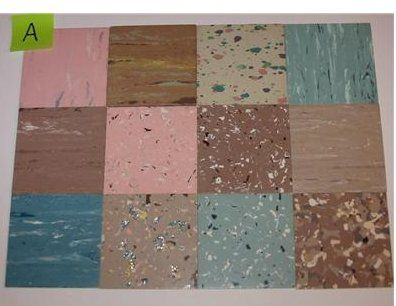 retro flooring - great reference samples | retro, vinyl tiles and