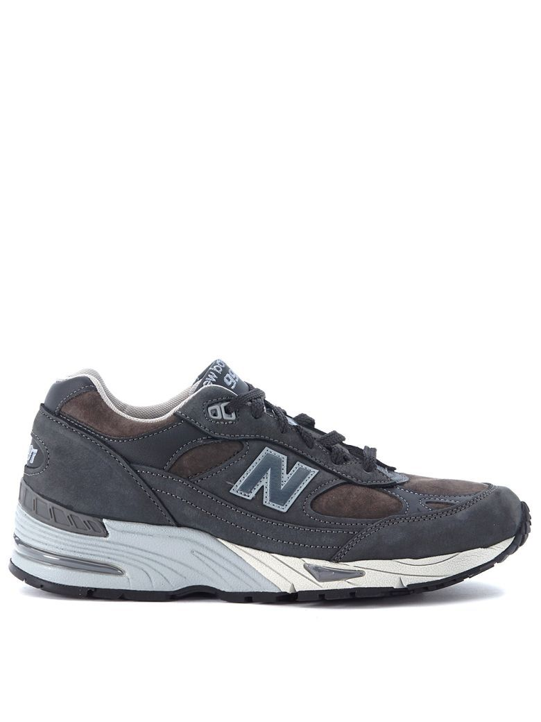 New Balance Sneaker 991 Blue Leather And Suede For Men Online Sale