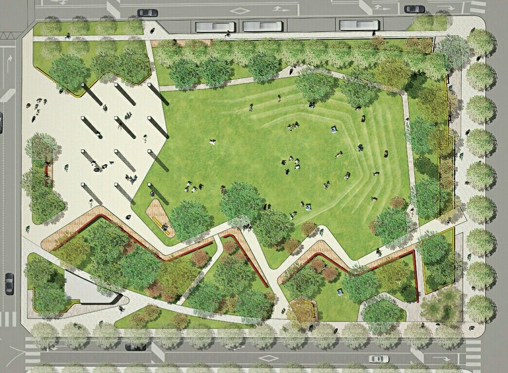 Suchang Park Daegu Korea Landscapemasterplan Landscape Architecture Plan Landscape Plans Landscape Architecture