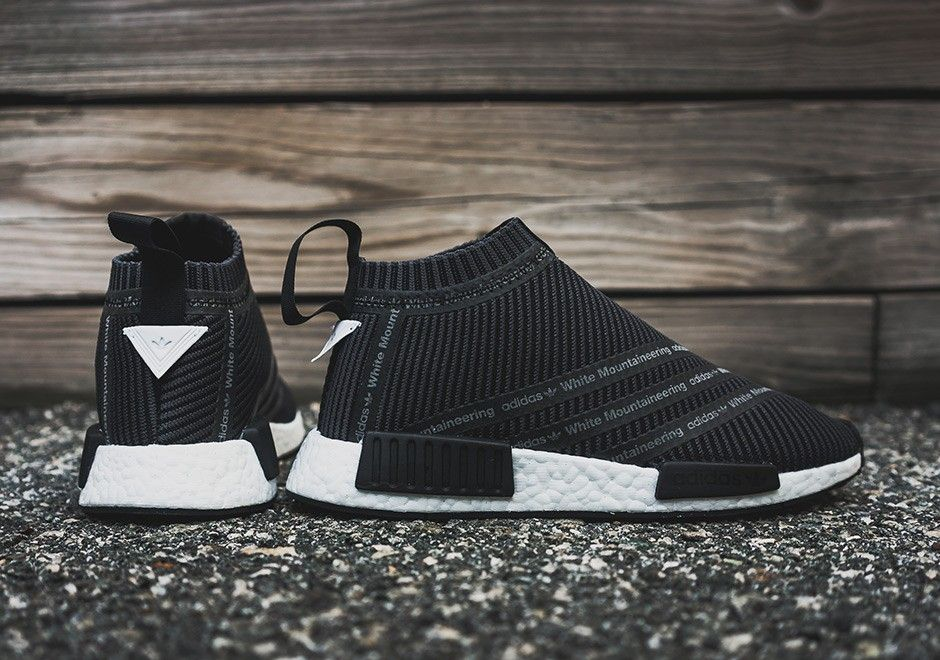 Haute qualité Adidas NMD CITY CHAUSSETTE WHITE MOUNTAINEERING NS ...