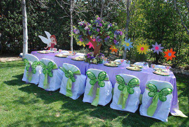 Decoracion De Cumpleanos Infantiles Con Flores De Papel Crepe Y