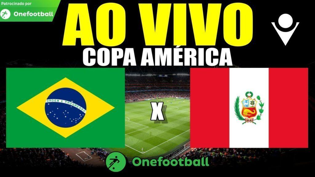 Jogo De Hoje Brasil X Peru Ao Vivo Na Tv Na Globo E Sportv Copa America Futebol Stats Copa America Jogos Do Brasil Sportv